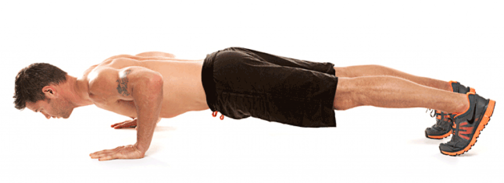 Flex Push Up - Full Bodyweight Lift
