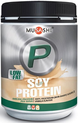 P Soy Protein Powder by Musashi