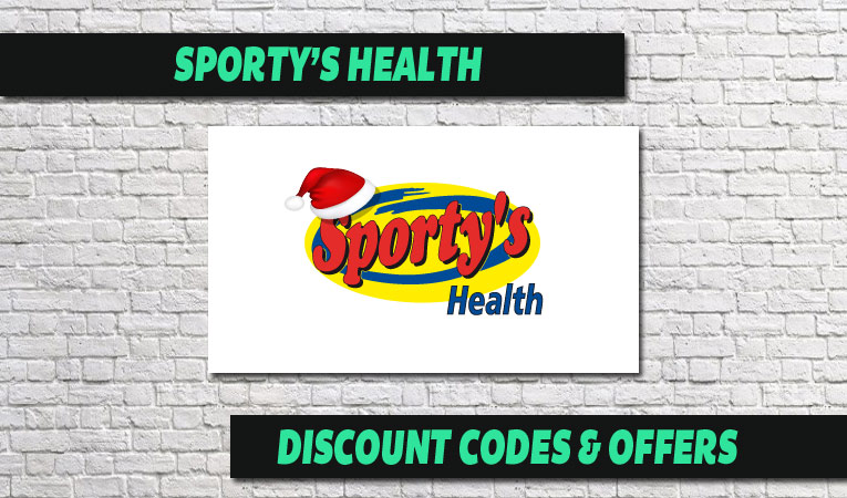 Sporty's Health Coupon