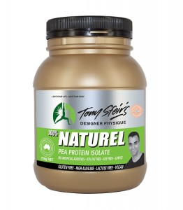 100% Natural Pea Protein Isolate by Tony Sfeirs